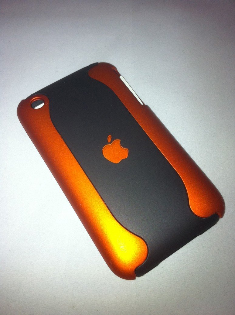 iPhone 3G-3Gs Case - Copper-Black