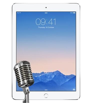 iPad Air 2 Microphone Repair Service