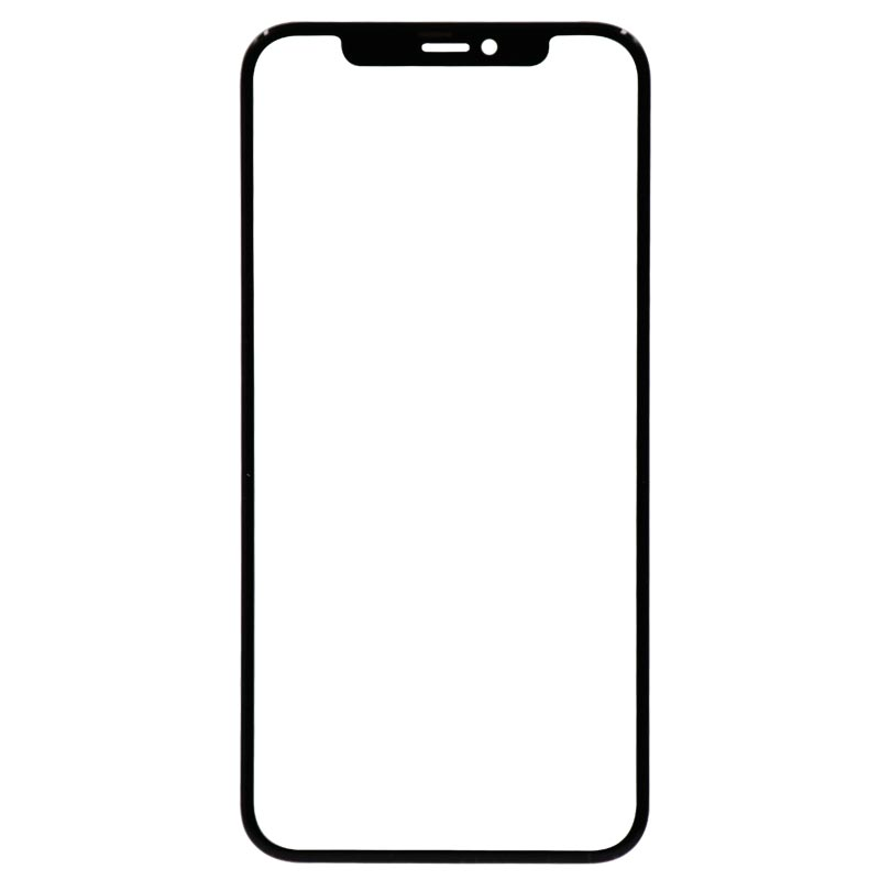 (3in1) Glass with OCA for iPhone 11 (Black)
