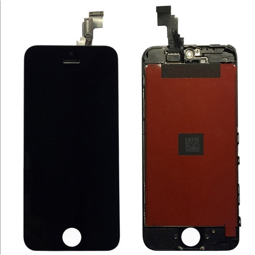 Premium Refurbished - LCD Screen and Digitizer Assembly for iPhone 5C (Black)