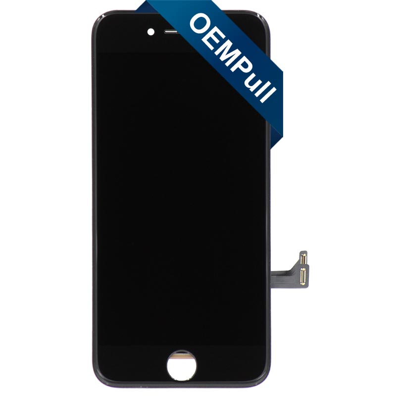 "OEM Pull LCD Screen and Digitizer Assembly, Black, for iPhone 7 (4.7"")"