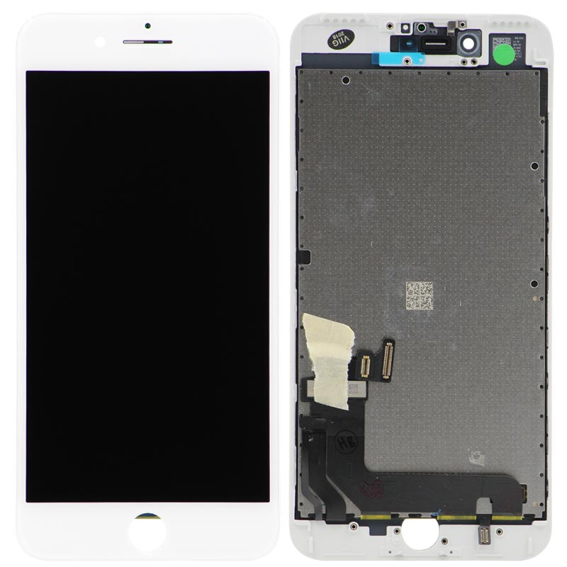 Premium Refurbished - LCD Screen and Digitizer Assembly for iPhone 7 Plus (White)