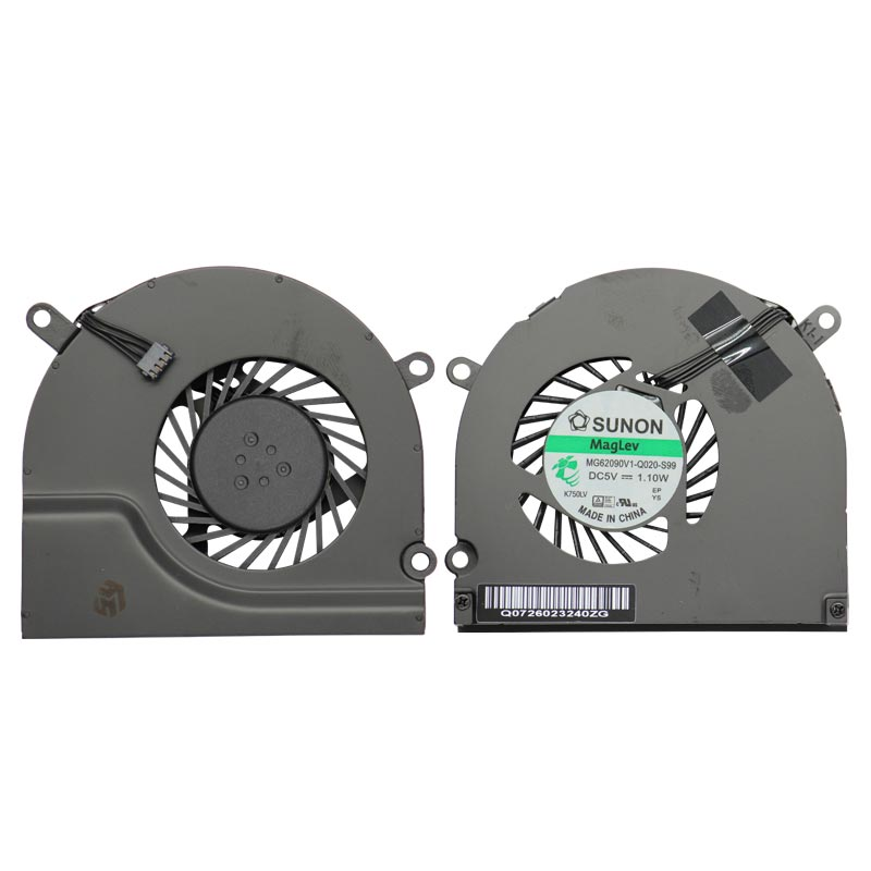 "Replacement Pair of Two Cooling Fan for MacBook Pro 15"" (A1286)(2008-12)"