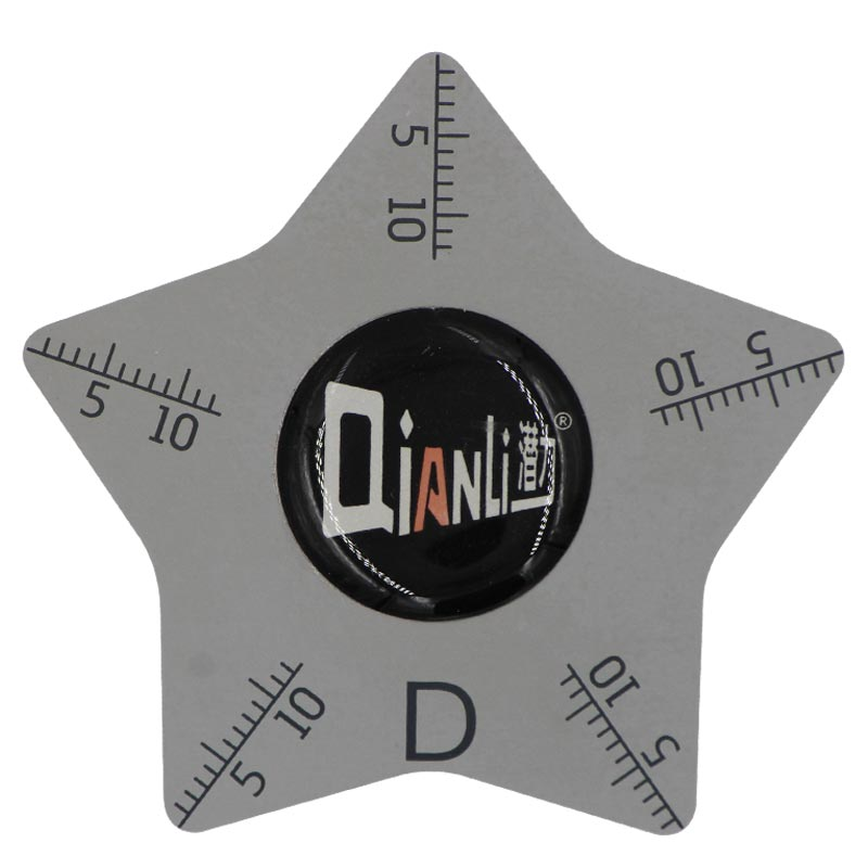 Qianli -Ultra thin Stainiless Steel Opening Tool with Scale (0.1MM)(Polygonal -D)