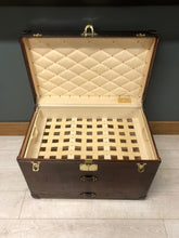Load image into Gallery viewer, Antique Louis Vuitton cowhide leather trunk