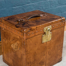 Load image into Gallery viewer, Louis Vuitton Calf Leather Hatbox Trunk