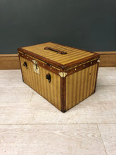 Load image into Gallery viewer, 1870s Louis Vuitton Special Rayee Hatbox