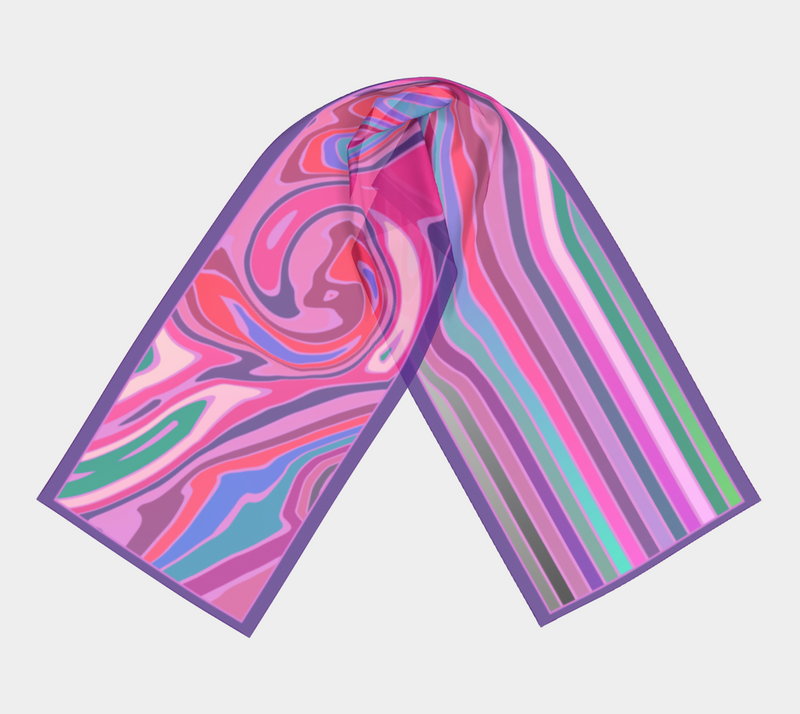 Color Harmony Scarf - COOL