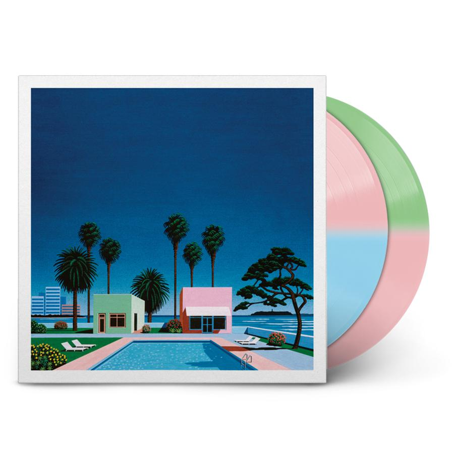 Pacific Breeze Vinyl Record Tri-color
