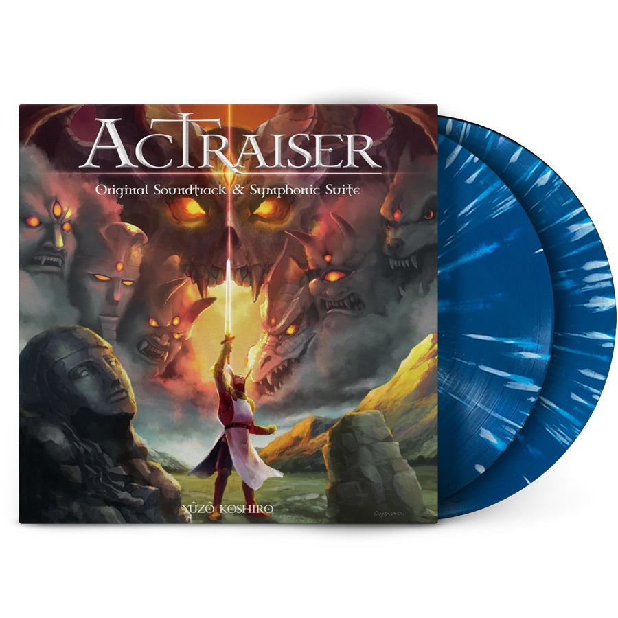 Actraiser | 2XLP Original Soundtrack and Symphonic Suite