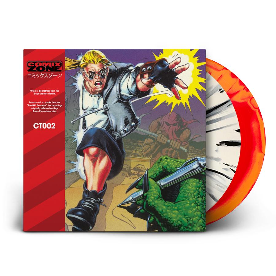 Comix Zone 2XLP | Original Game Soundtrack