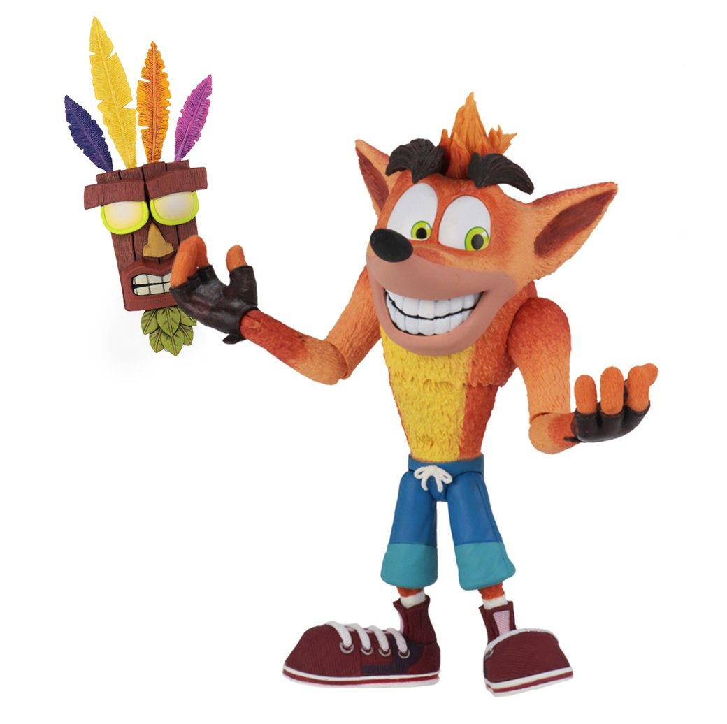 NECA Crash Bandicoot: Ultra Deluxe Crash