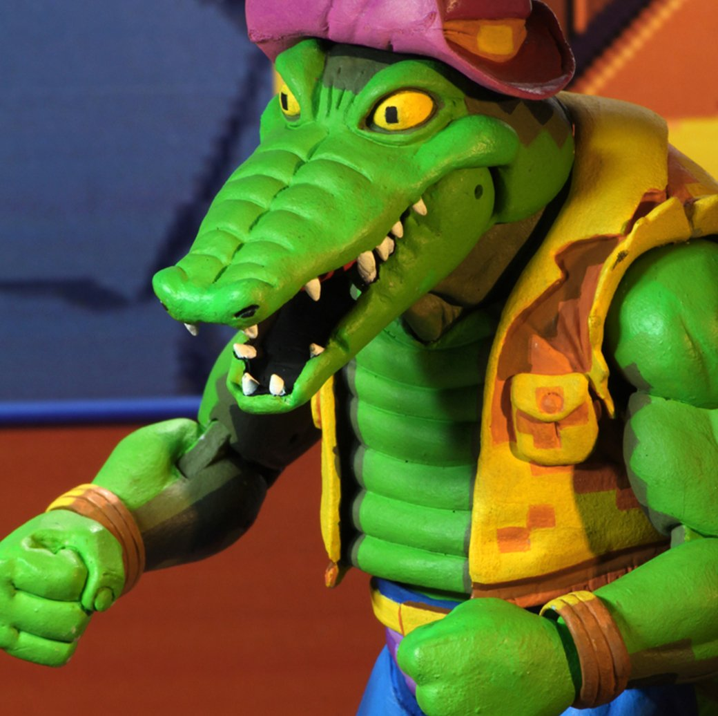 NECA Turtles in Time TMNT Leatherhead