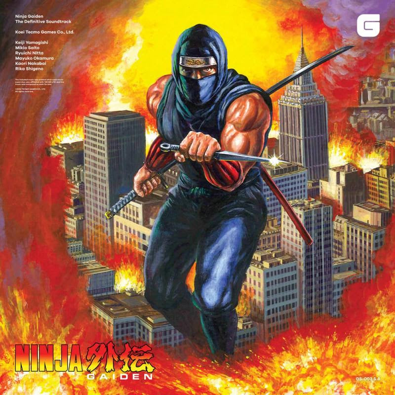 Ninja Gaiden: The Definitive Soundtrack (Vol. 1 + Vol. 2)
