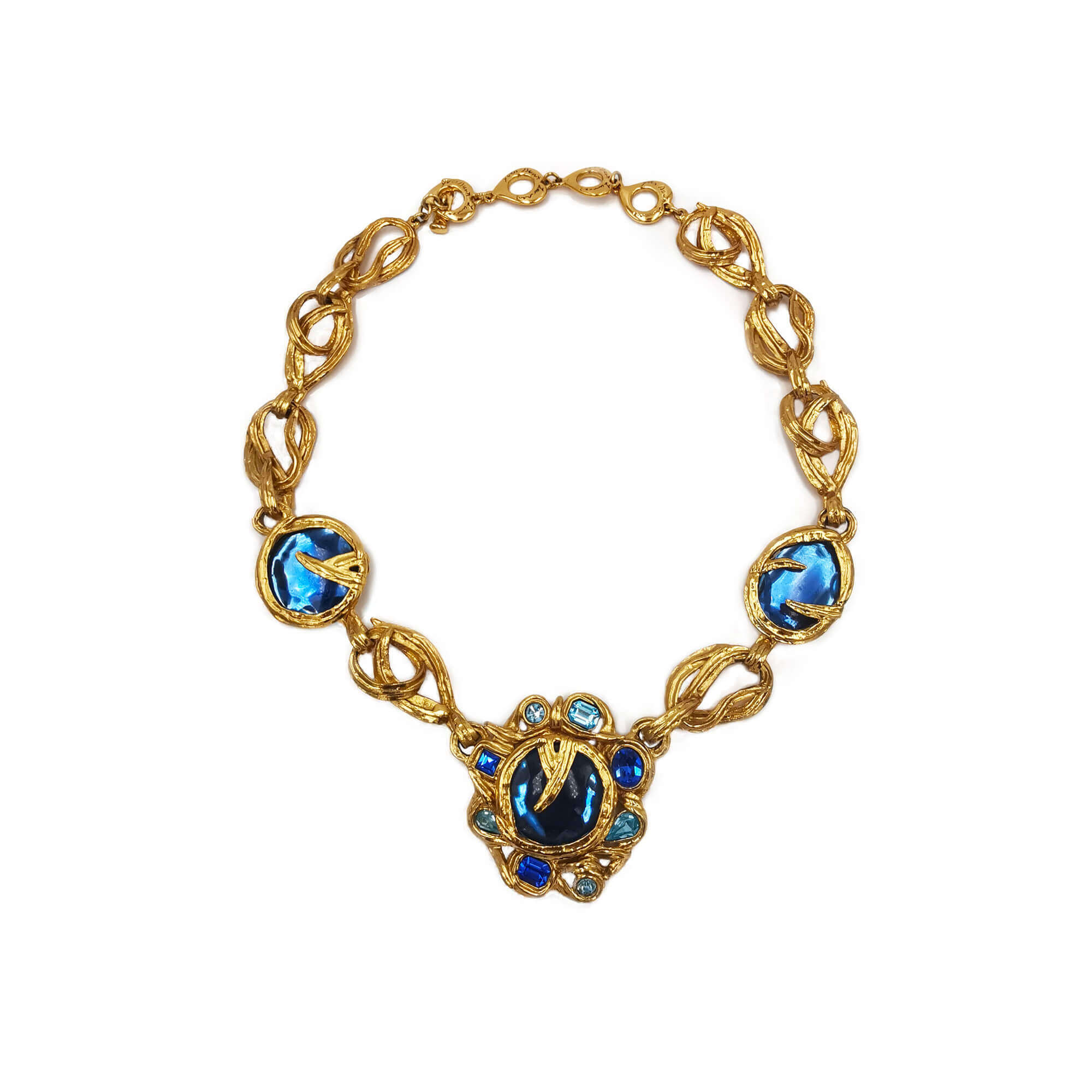 Necklace  Goossens for Yves Saint Laurent - Bona Tondinelli Bijoux