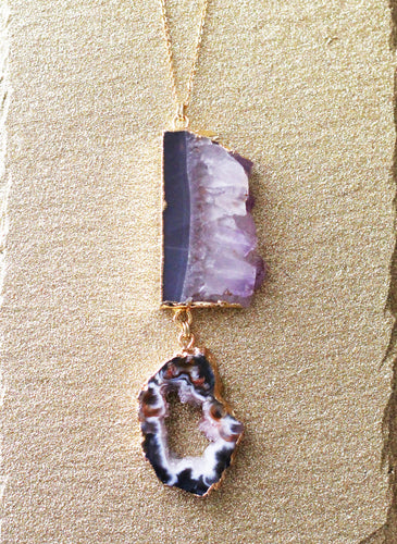 Paisley Amethyst Necklace - T. Victoria