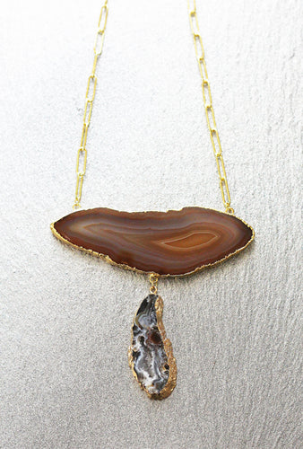 brown-geode-necklace