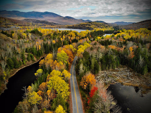 Adirondack Mountains Road
