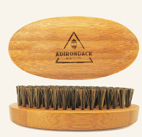 Bamboo Boar Bristle Beard Brush