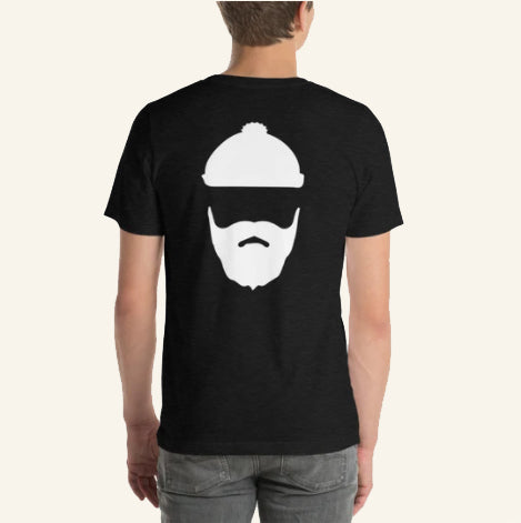 T-Shirt with Adirondack Beard Guide on Back