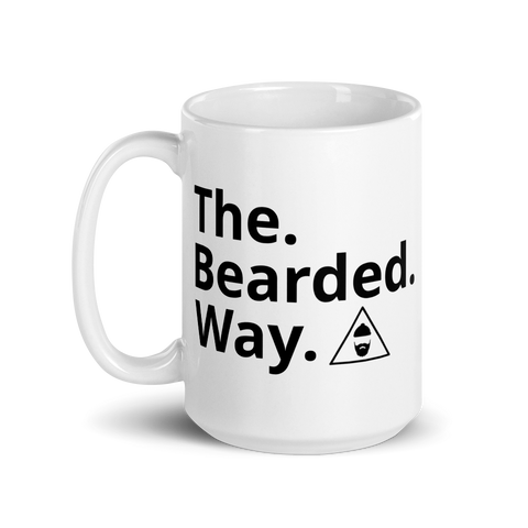 The Bearded Way 15oz Mug