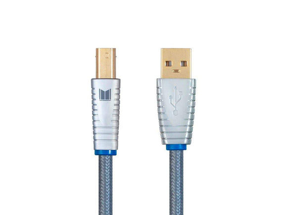 Cable USB Digital Audio Monolith- USB A a USB B - 2 mts - PrimeAudio