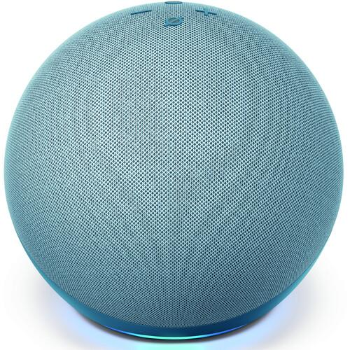 Amazon Echo Dot 4 ta Generación - Parlante Inteligente - Alexa - Twilight Blue - PrimeAudio