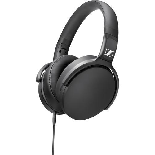 Sennheiser Audífono Over Ear HD 400S con cable - Negro - PrimeAudio