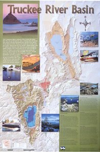 Truckee River Basin Map