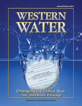 Changing the Status Quo: The 2009 Water Package