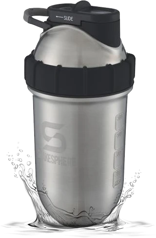 700mls ShakeSphere Tumbler Double Wall Steel Original