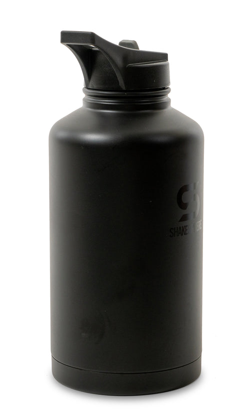 ShakeSphere Hydration Jug 1.8L Steel Double Walled Black