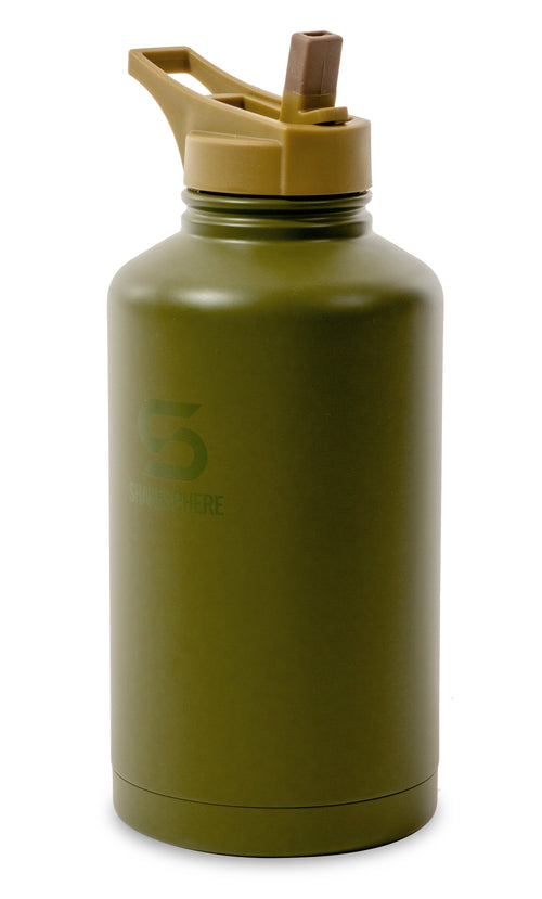 ShakeSphere Hydration Jug 1.8L Steel Double Walled Green