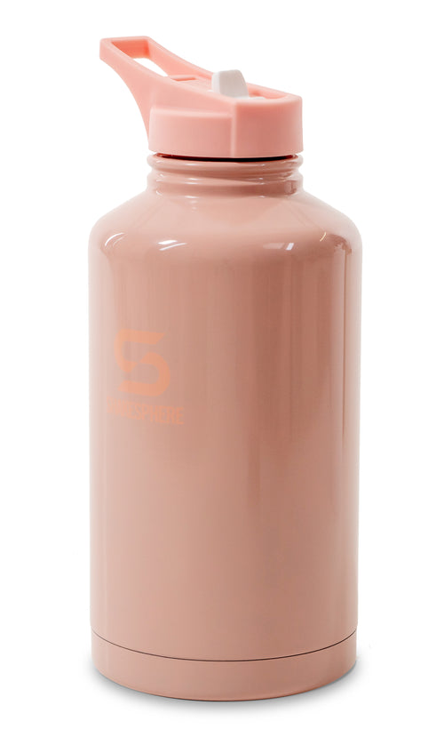 ShakeSphere Hydration Jug 1.8L Steel Double Walled Pink