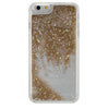 iPhone 6/6s Plus GlitterShield- Gold Glitter/Colored Stars