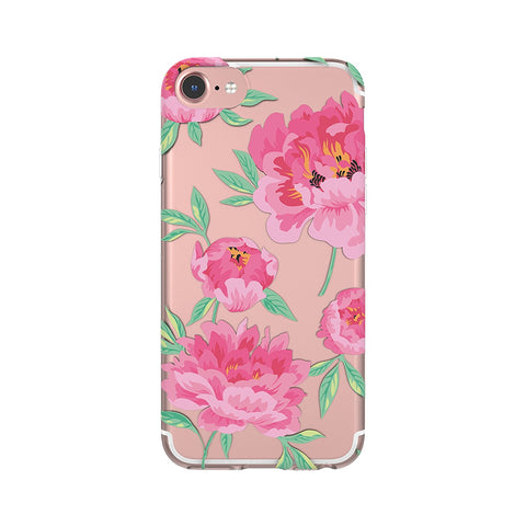 iPhone 6/7/8 FlexShield - Clear Vintage Floral