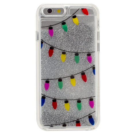 iPhone 6/6s GlitterShield- Xmas Lights