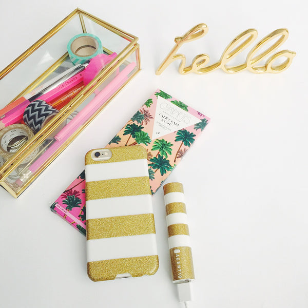 iPhone 6/6s SlimShield - Glitter Stripes