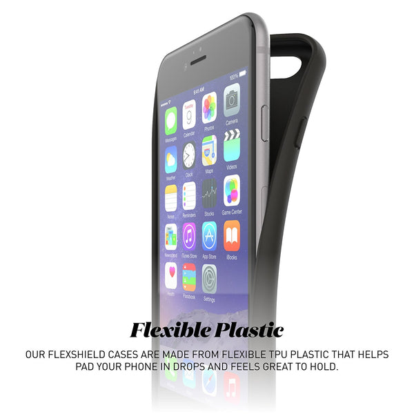 iPhone 7 Flexshield - Black Flag