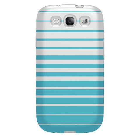 Case - Galaxy S3 FlexShield - Blue Stripes