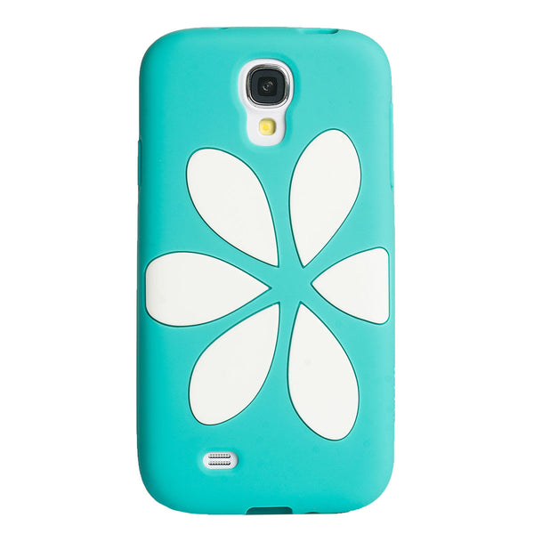 Case - Galaxy S4 Vest - Turquoise/White