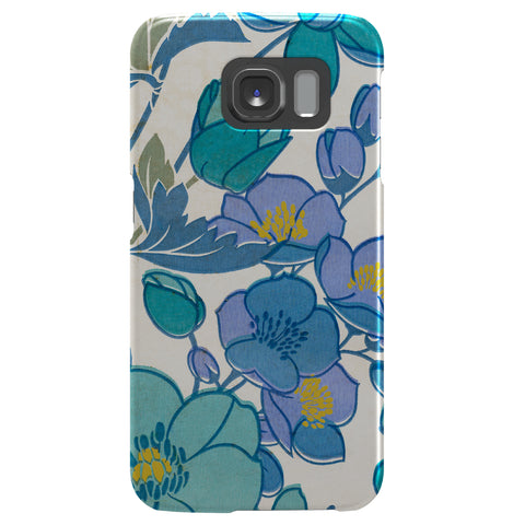 Case - Galaxy S6 SlimShield - Blue/Purple Floral