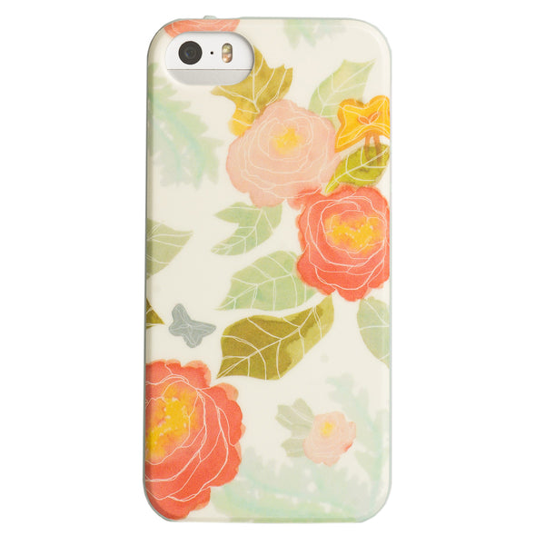 Case - IPhone 5/5s FlexShield - Pastel Flowers