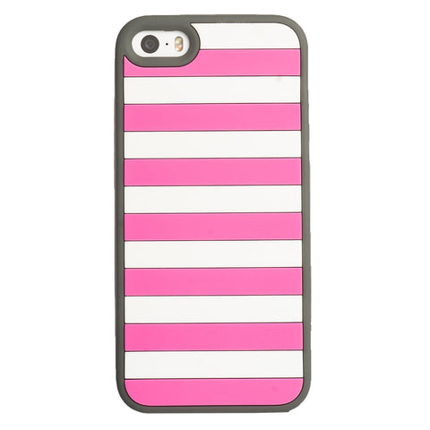 Case - IPhone 5/5s Vest - Pink/Gray
