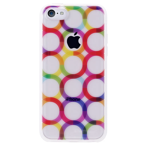 Case - IPhone 5c ShockSlim - Circles