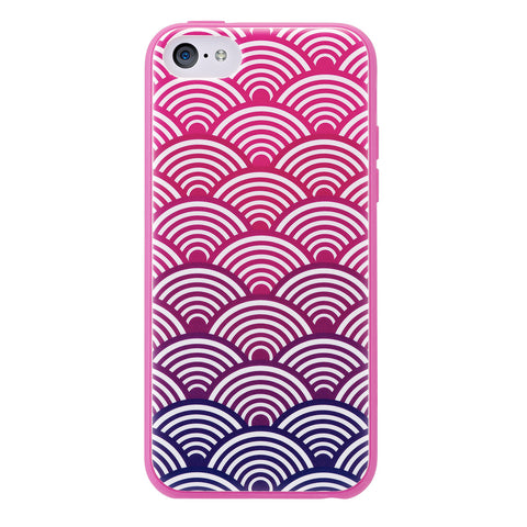 Case - IPhone 5c ShockSlim - Scallops