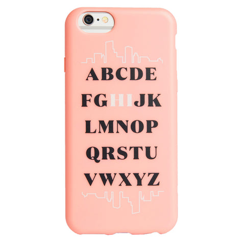 Case - IPhone 6/6s FlexShield - Alphabet Hi