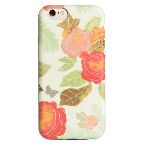 Case - IPhone 6/6s FlexShield - Pastel Flowers