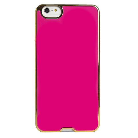 Case - IPhone 6/6s Plus Inlay - Pink/Gold Rims