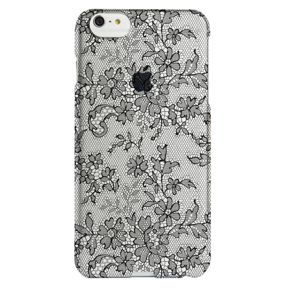 Case - IPhone 6/6s Plus SlimShield - Clear Fishnet Lace